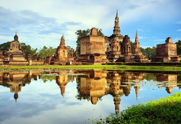 Virtual tour of places in the Central province of Thailand