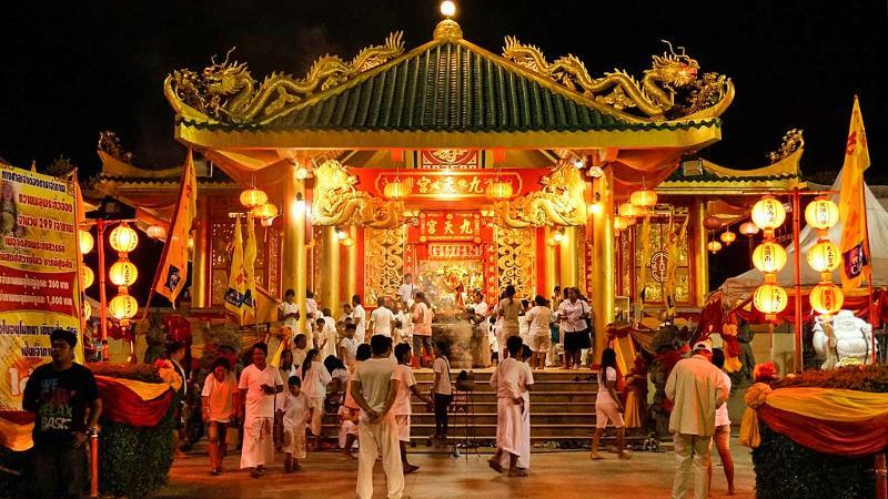 Afbeeldingsresultaat voor six Chinese temples vegetarian festival phuket