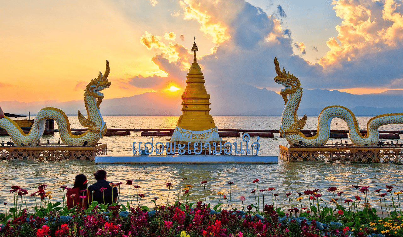 Virtual tour of places in the Northern province of Thailand